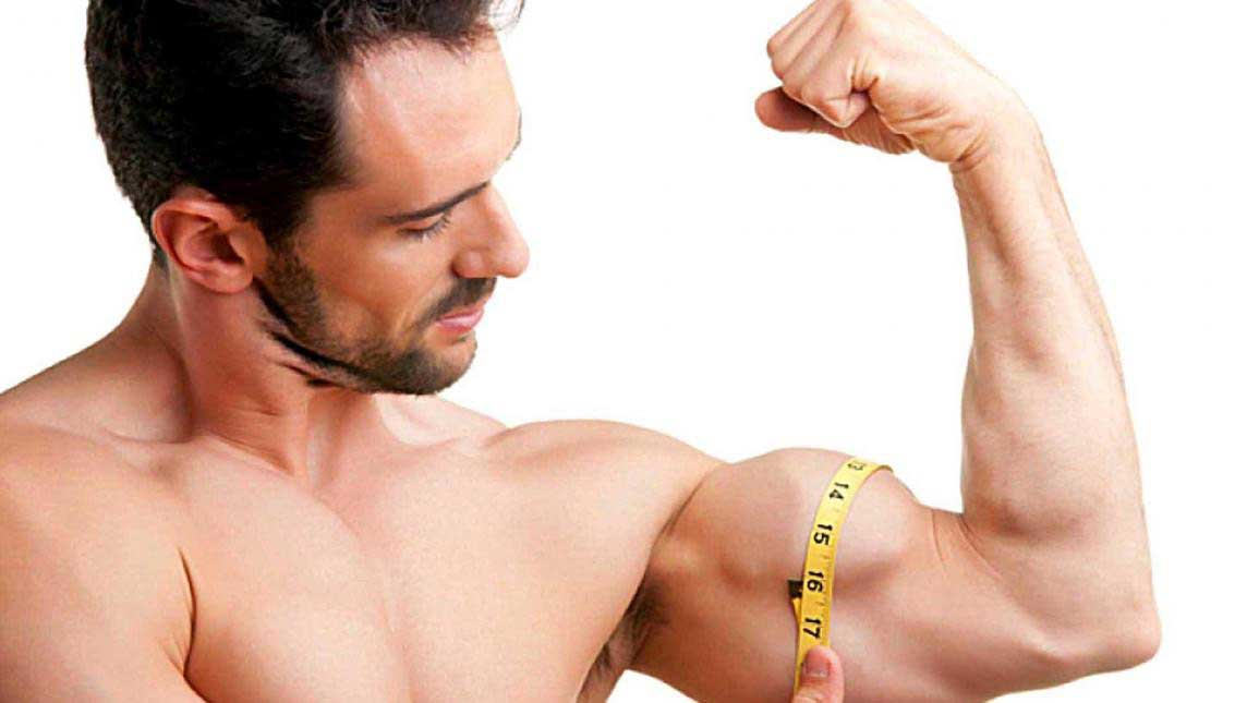Build Muscles Naturally