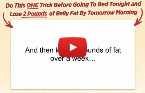 Flat Belly Overnight Trick