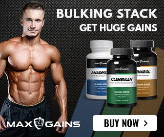 Max Gains Bulking Stack