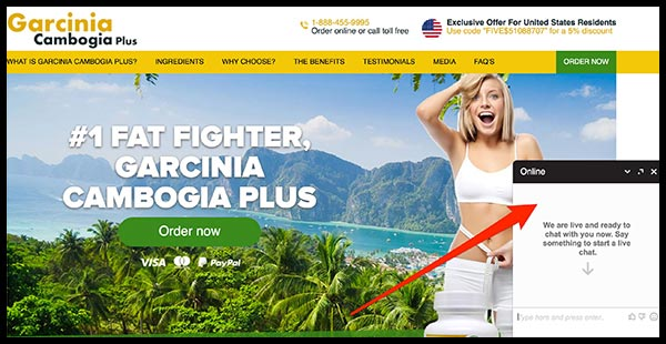Garcinia Plus Website