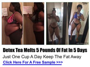 Detox Tea Melts 5 Pounds OF Fat