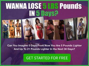 Lose 5 Pounds In 5 Days