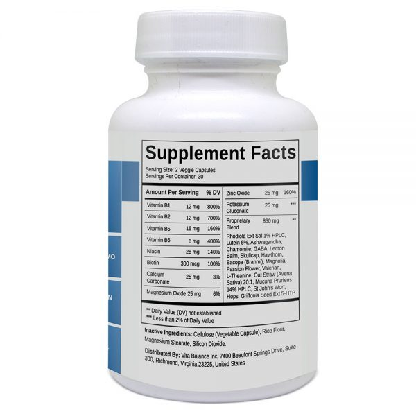 Stress Support Ingredients